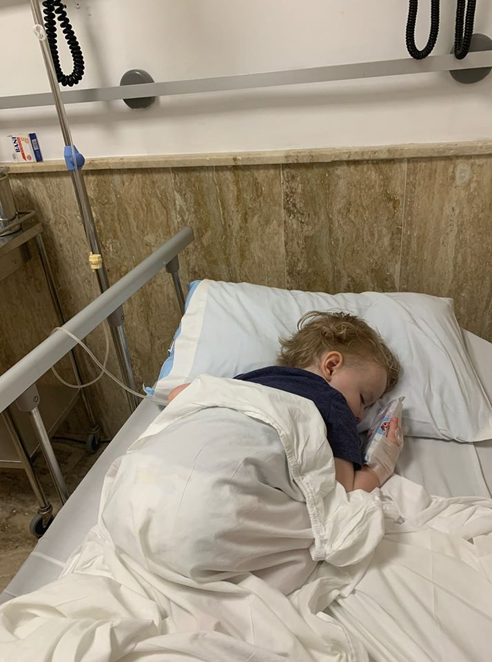 Son taken to far away hospital
