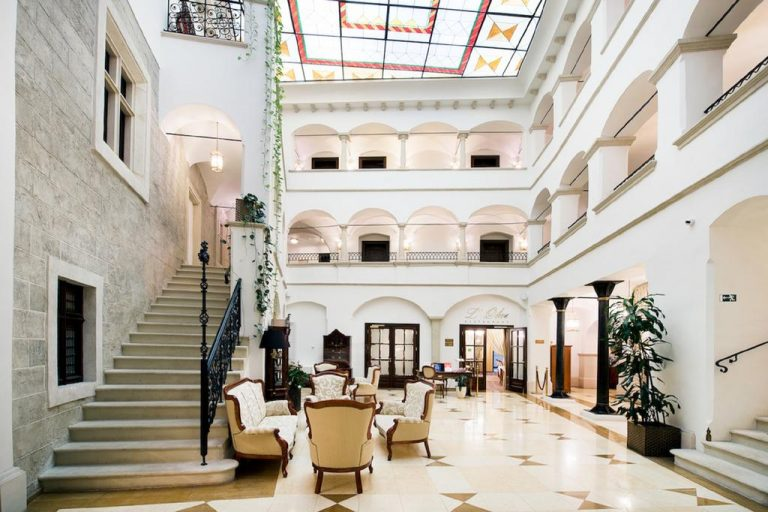 Arcadia hotel in downtown Bratislava
