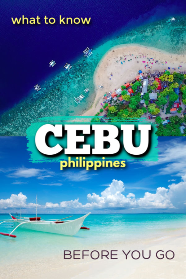 Cebu - what to know before you go