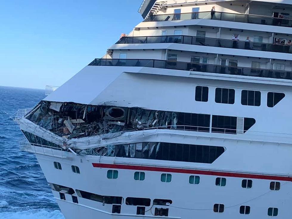 cruise ships collide