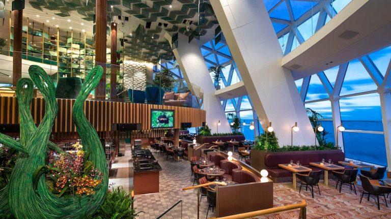 Eden restaurant on new Celebrity Apex