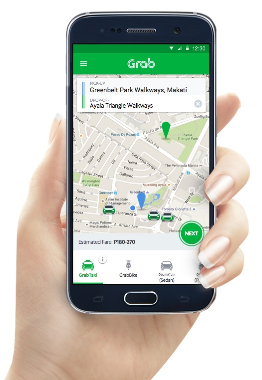how to use grab in cebu