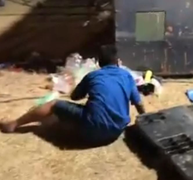 man thrown from ride 1