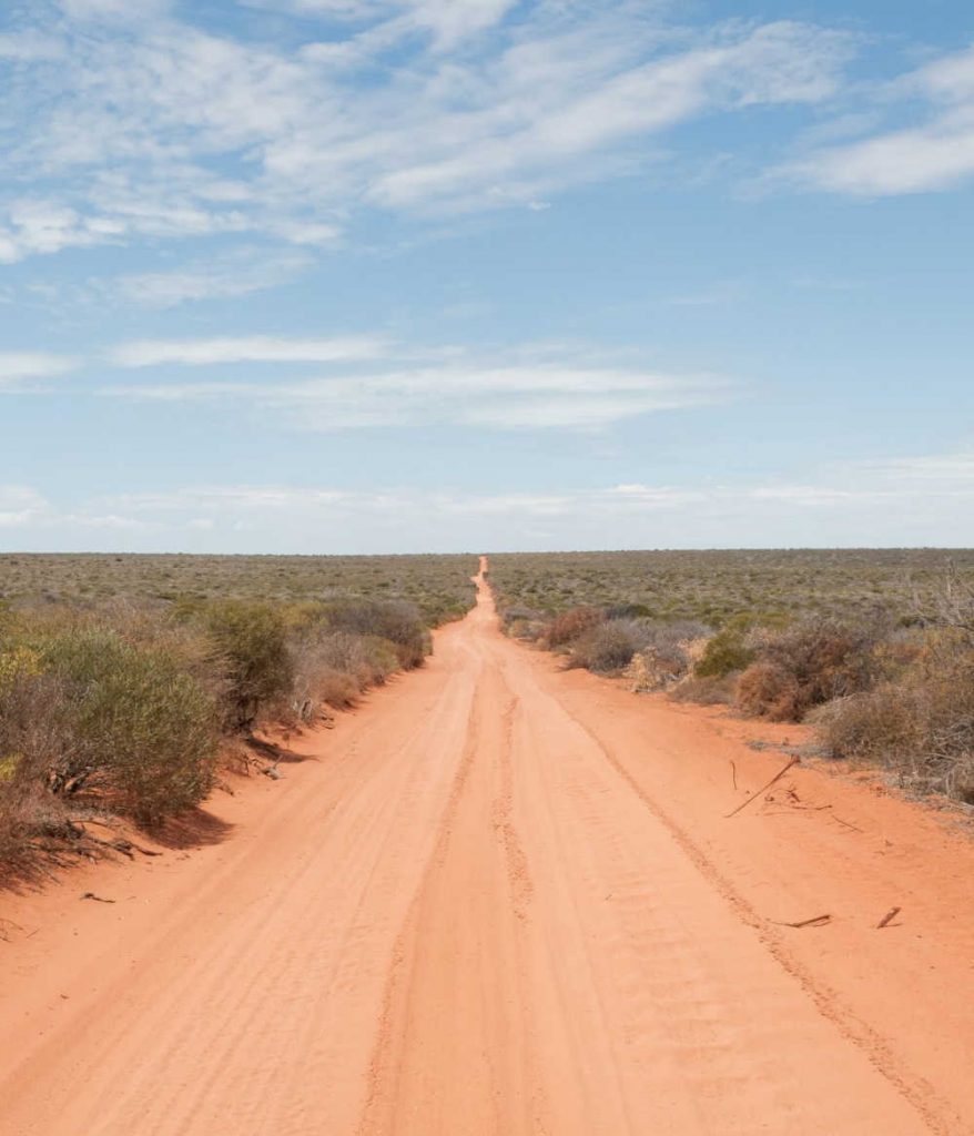 sweltering heat outback