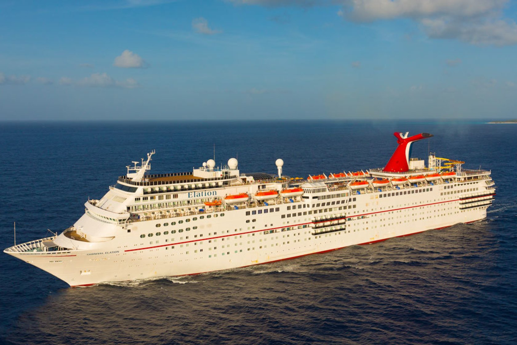 Carnival Cruise Ship Accidentally Dumps 'Grey Water' In Florida