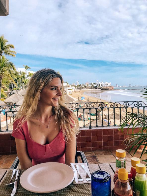 cruise port day in mazatlan - eat at hotel playa mazatlan