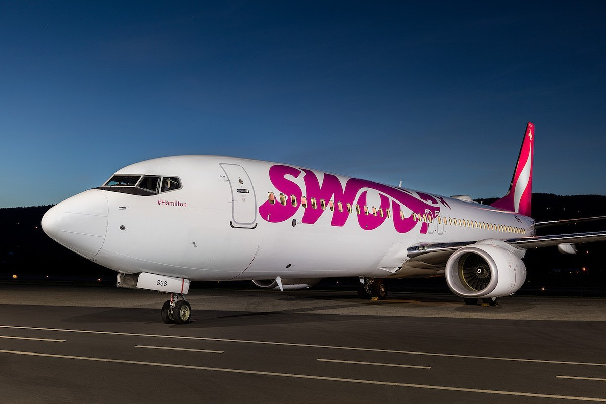 Swoop airline passengers stranded