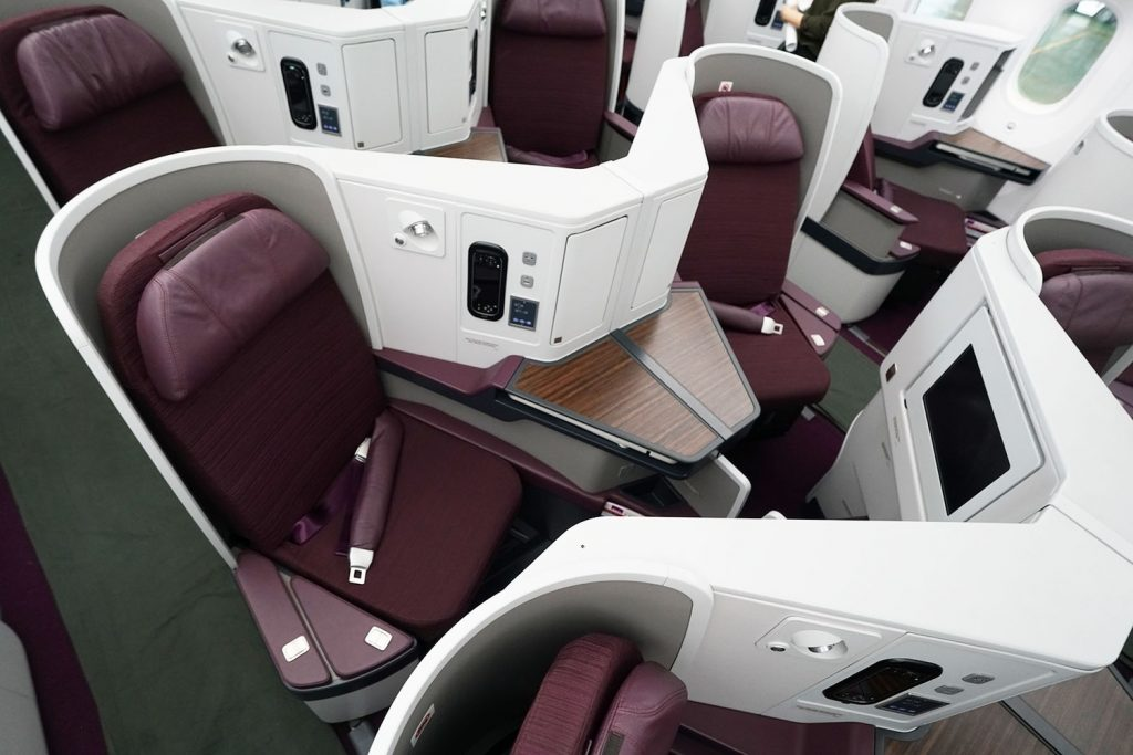 airbag seatbelts thai airlines