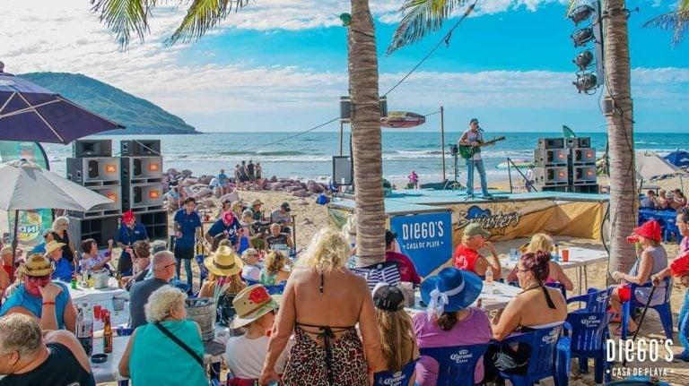 Cruise port to-do in mazatlan - go to brentsers beach bash