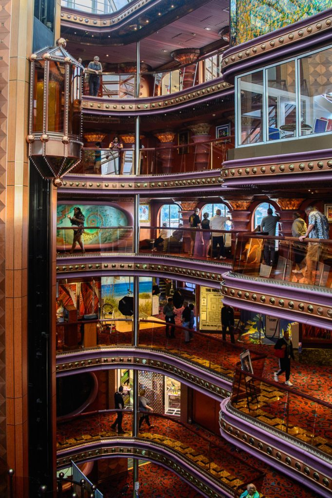 carnival elation interior