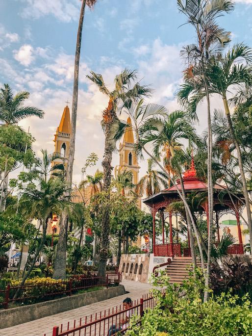 Centro in Mazatlan - plaza republica