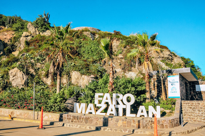 hike el faro on a cruise port stop day in mazatlan