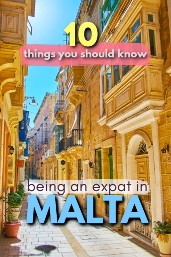 things to know about being an expat in Malta