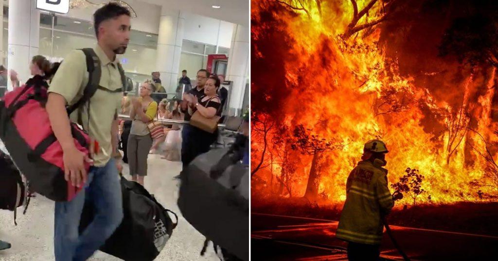 fight fires in australia