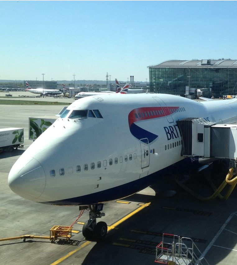 flights to china stopped by british airways