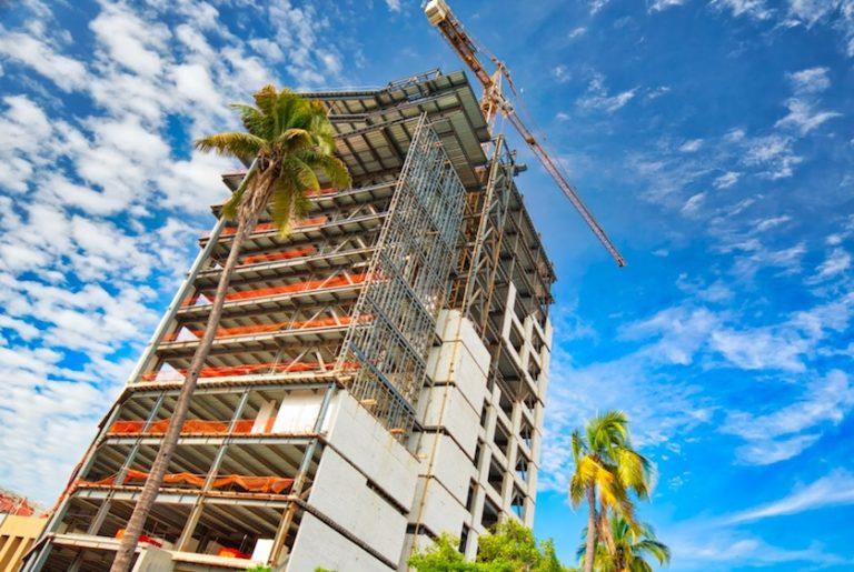Many new condos and hotels under construction mazatlan