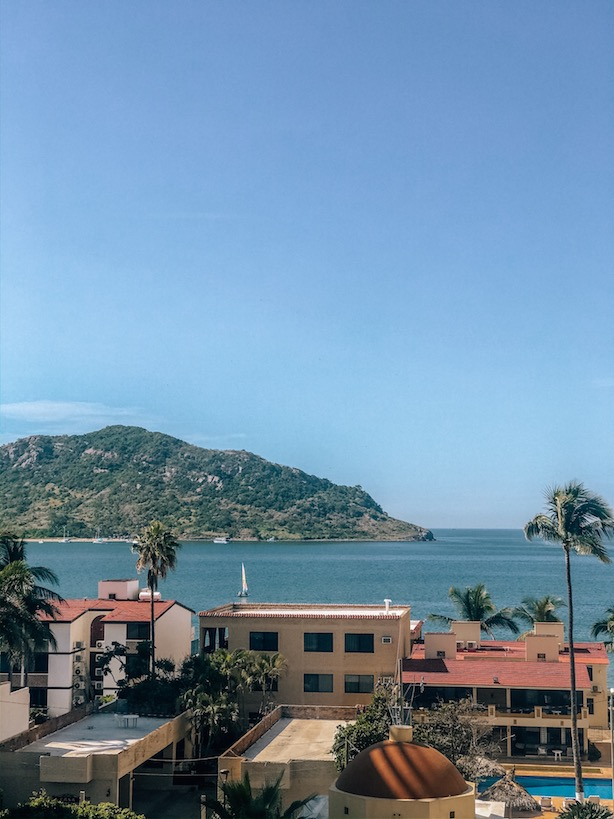 View from condo in the golden zone MZT