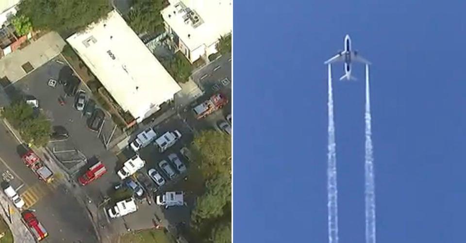 31 People Injured After Jet Plane Dumps Fuel Over Los Angeles