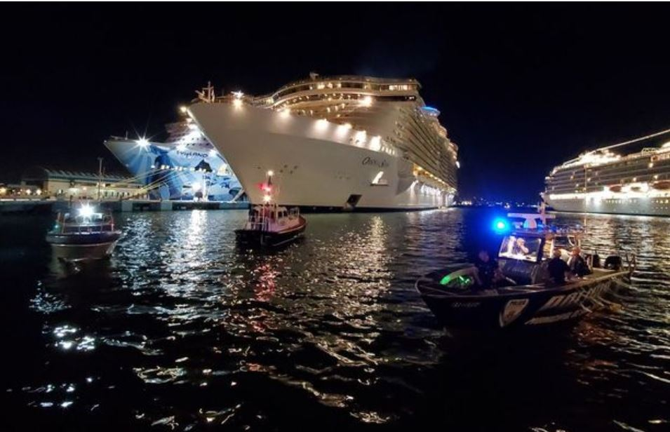 man dies after falling from oasis of the seas