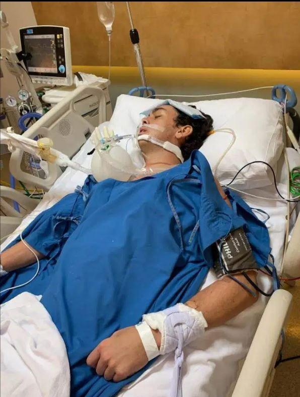 man sick in thailand