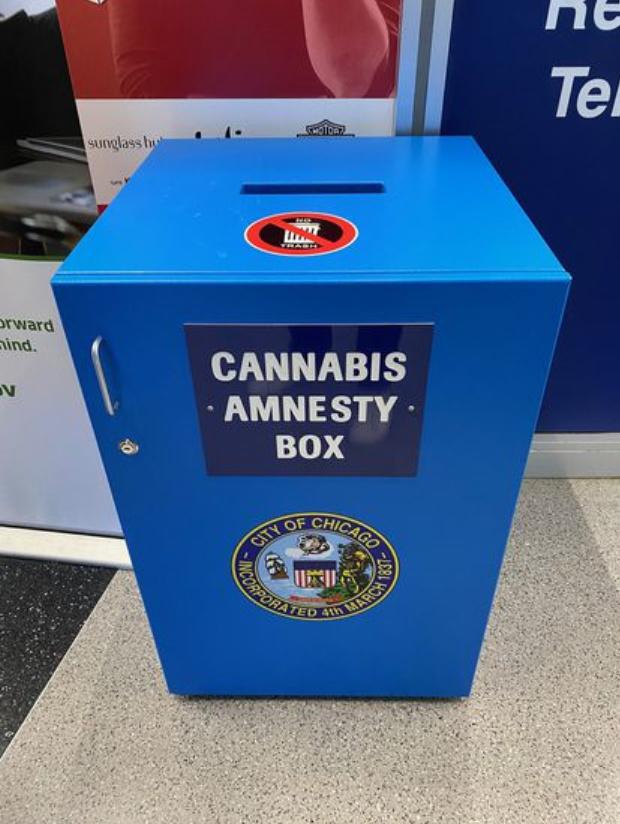 marijuana disposal box