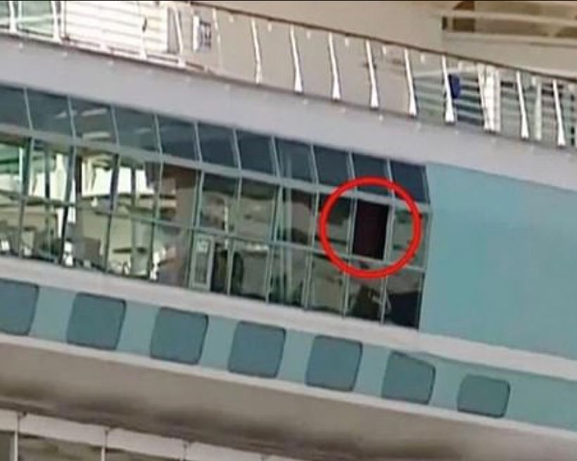 open window where toddler fell