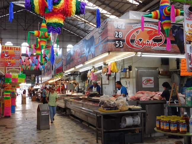 Pino Suarez market mazatlan
