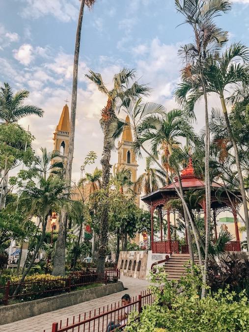 Plaza republica in Mazatlan