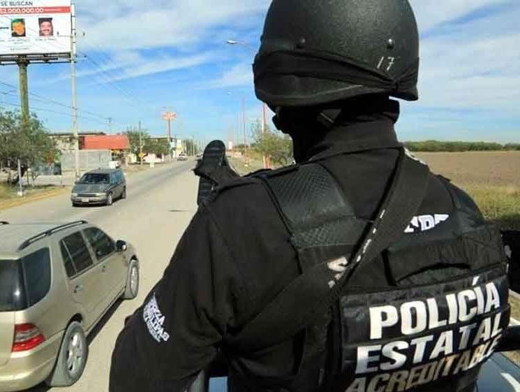 police search for gunmen