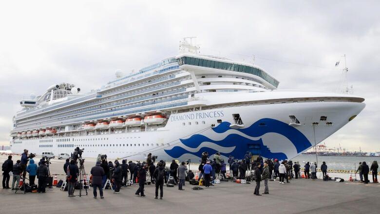 136 passengers have coronavrius on quarantined cruise ship