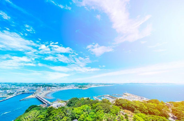 enoshina island and causeway kamakura