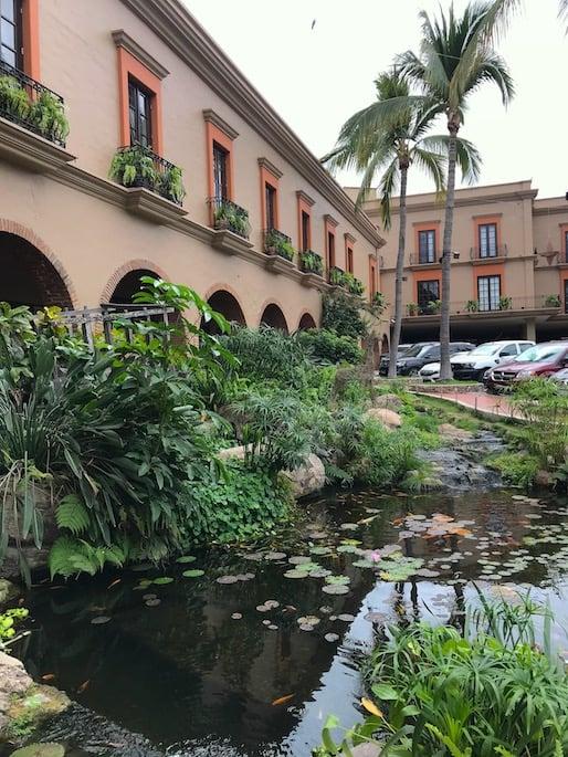 front of the playa mazatlan hotel