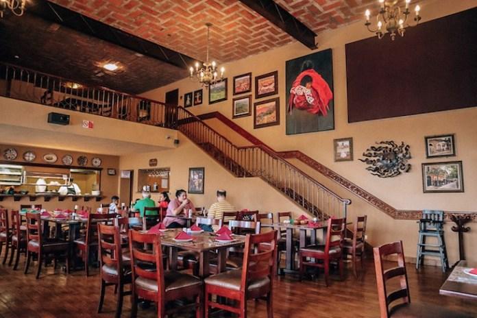 Casa Roberto restaurant at the hotel playa mazatlan