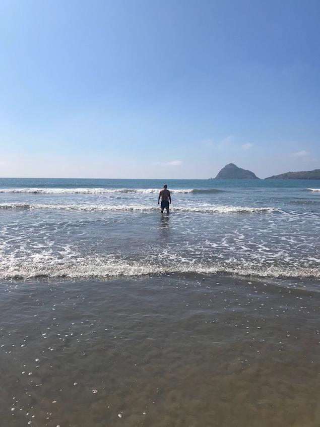 how is the beach at the hotel playa mazatlan