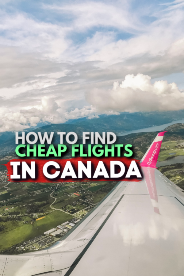 How to find cheap flights in canada