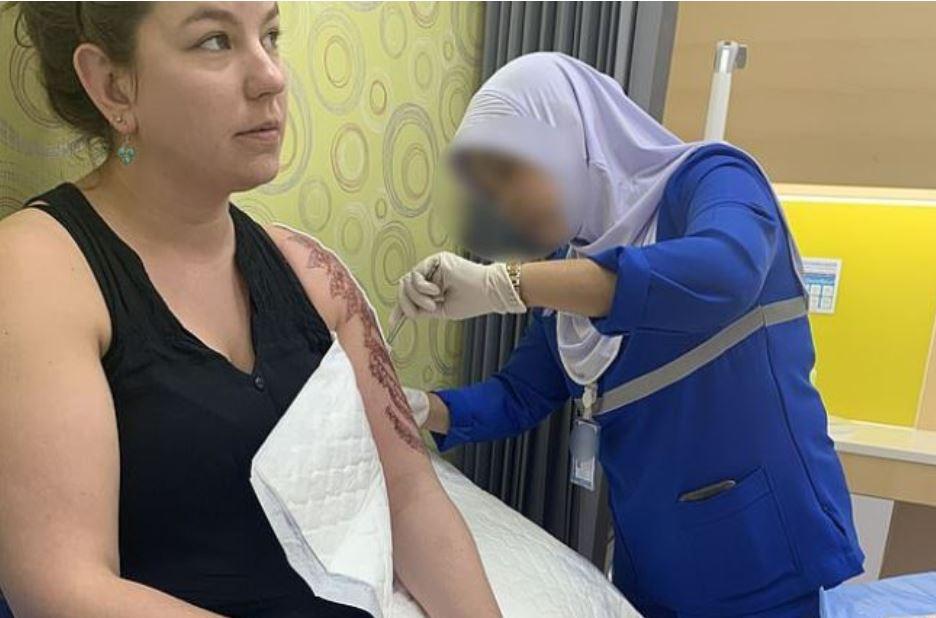 henna tattoo chemical burn thailand