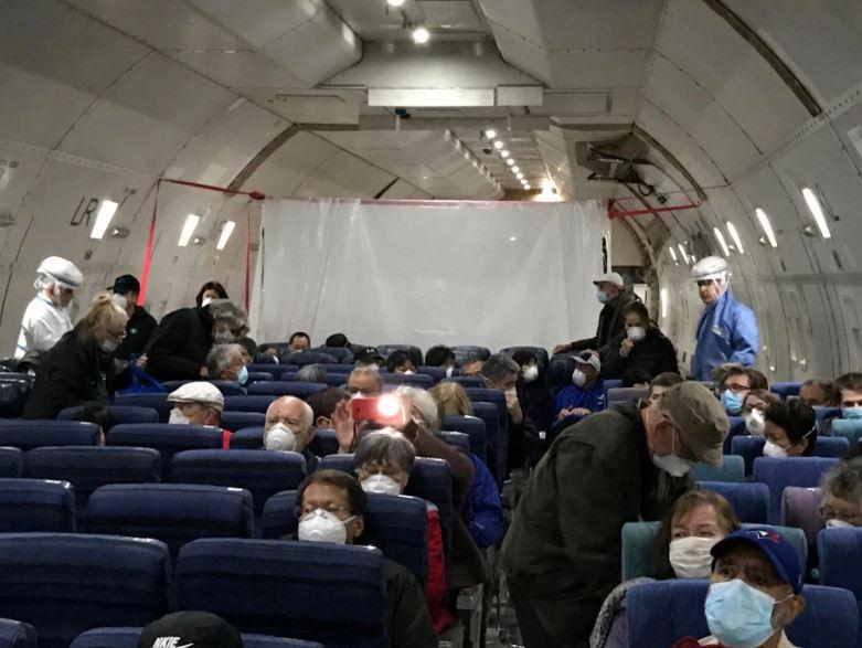 isolation on plane
