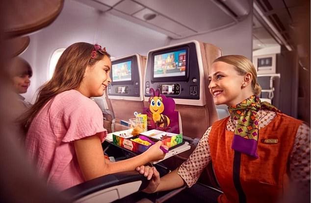 long haul flight ethiad Flying nanny