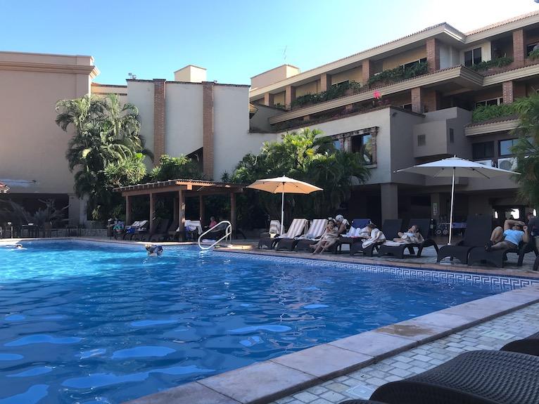 main pool at playa mazatlan