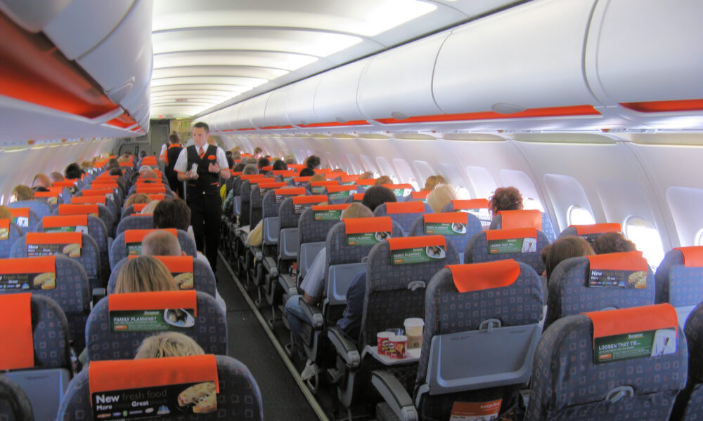 man tries to eat his phone easy jet