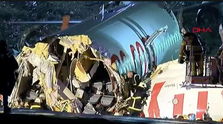 plane crash turkey