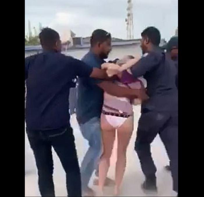 woman arrested indecent exposure