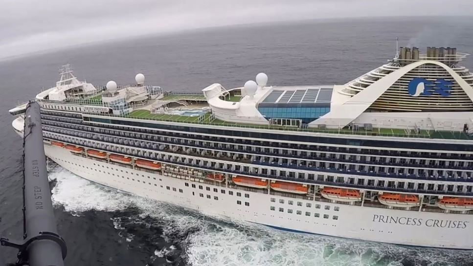 21 Test Positive For Coronavirus On Second Cruise Ship - Officials Will Now Test All 3500 Passengers