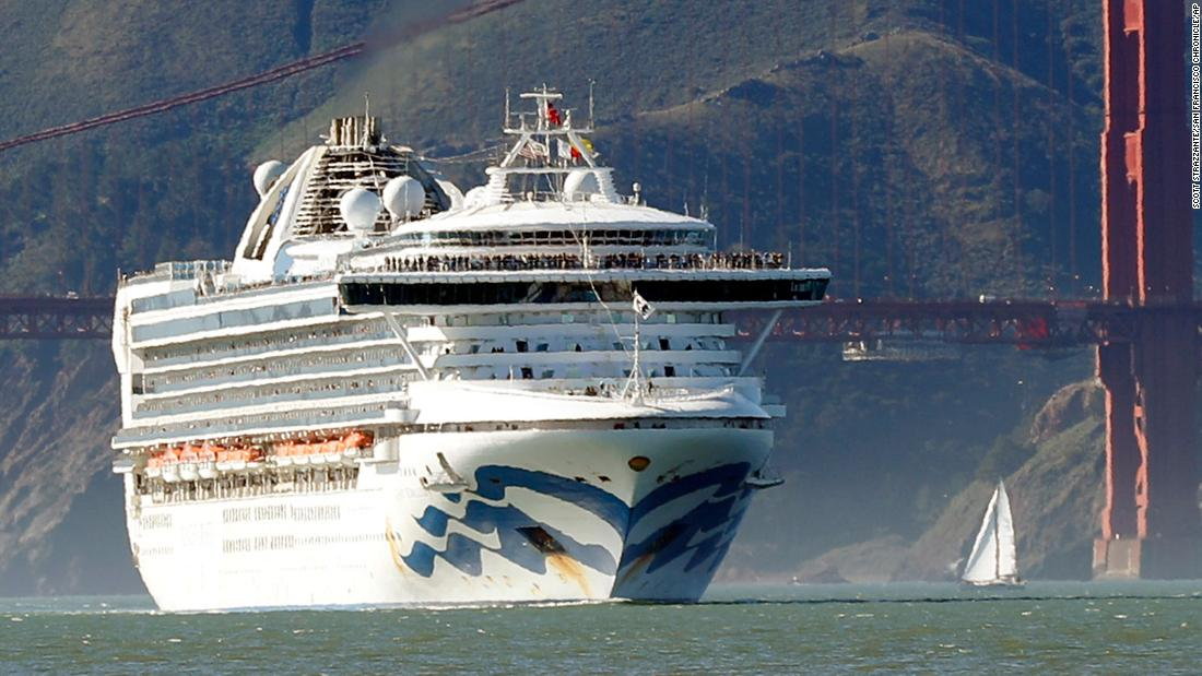 2400 Passengers Confined To Their Rooms On Second Cruise ship Affected By The CoronaVirus