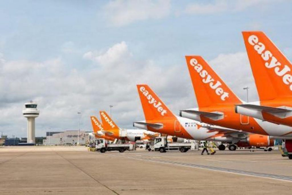 easy jet grounded