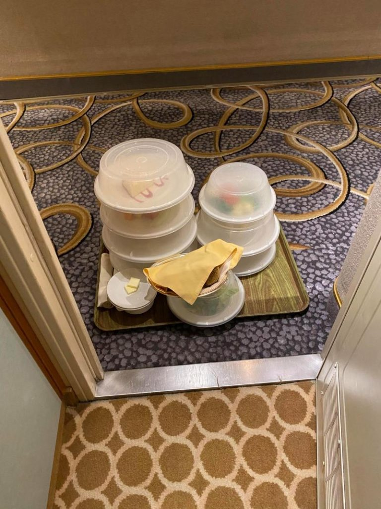 food delivery grand princess