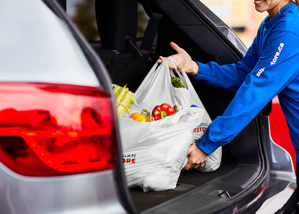 use superstore curbside pickup for groceries in canada