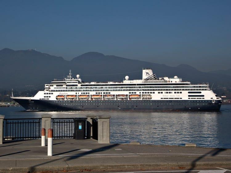 zanndam cruise ship quarantine