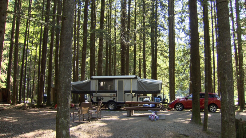 All of B.C.'s provincial parks have been closed as officials continue to take action to stop the spread of COVID-19.