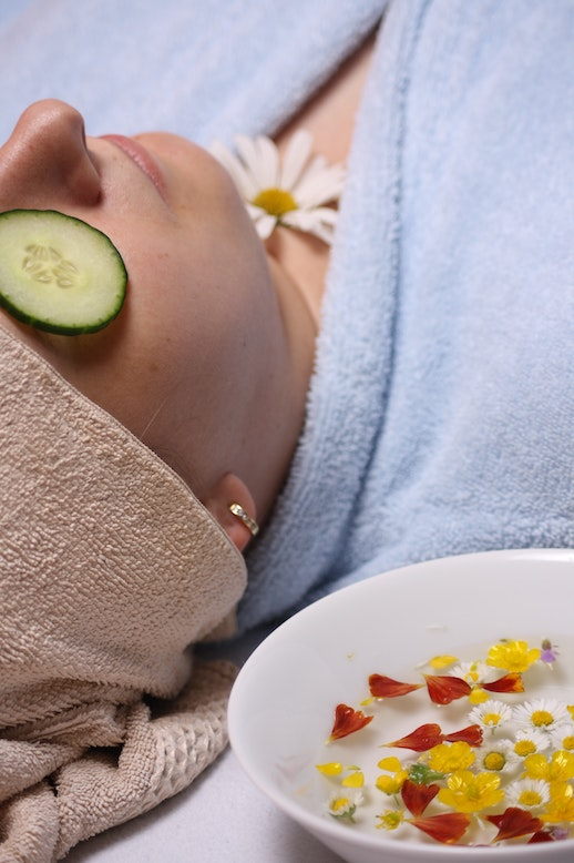 have an at home spa day - travel local